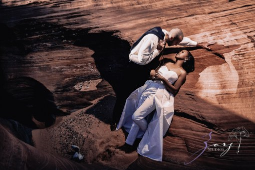 Canyon: Fashionable Engagement Session at Antelope Canyon by Zorz Studios (22)