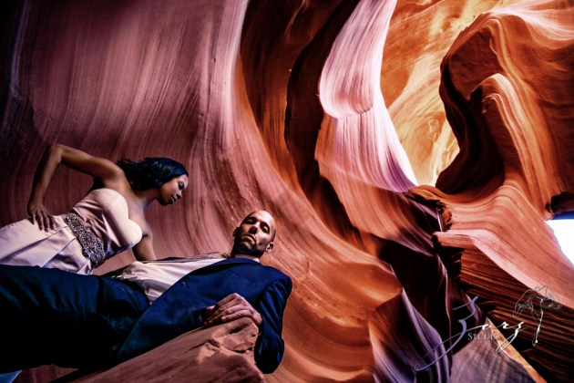 Canyon: Fashionable Engagement Session at Antelope Canyon by Zorz Studios (20)