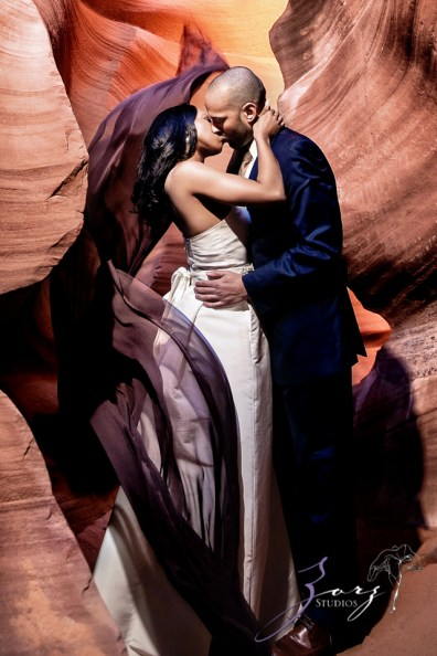 Canyon: Fashionable Engagement Session at Antelope Canyon by Zorz Studios (17)
