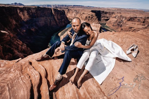 Canyon: Fashionable Engagement Session at Antelope Canyon by Zorz Studios (13)