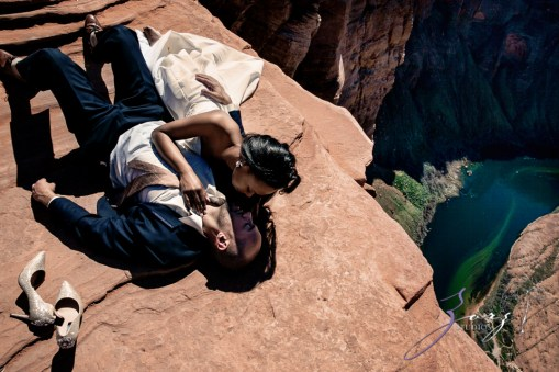 Canyon: Fashionable Engagement Session at Antelope Canyon by Zorz Studios (11)