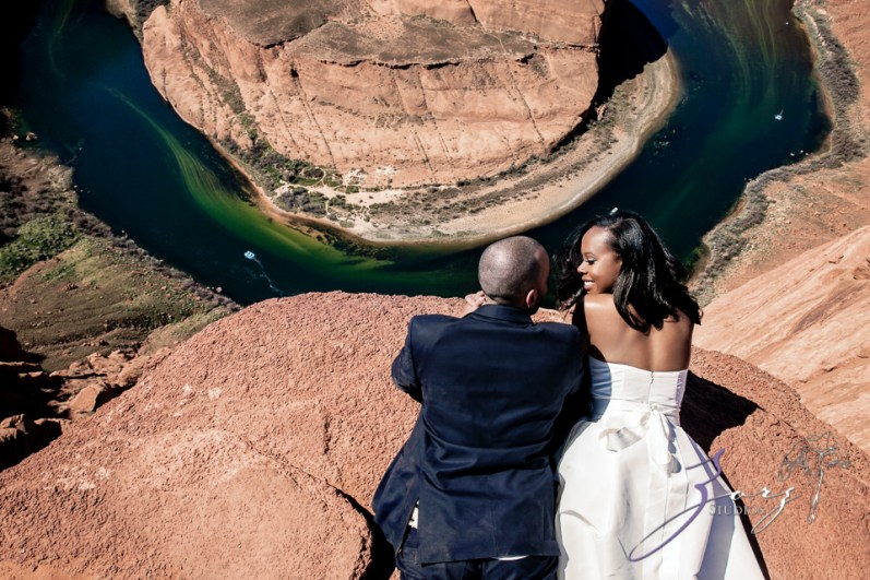Canyon: Fashionable Engagement Session at Antelope Canyon by Zorz Studios (10)