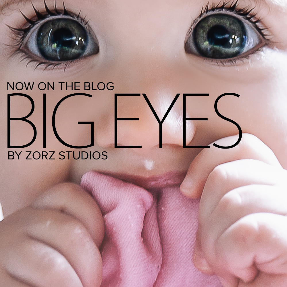 Big Eyes: Adorable Baby Girl Photoshoot by Zorz Studios (1)