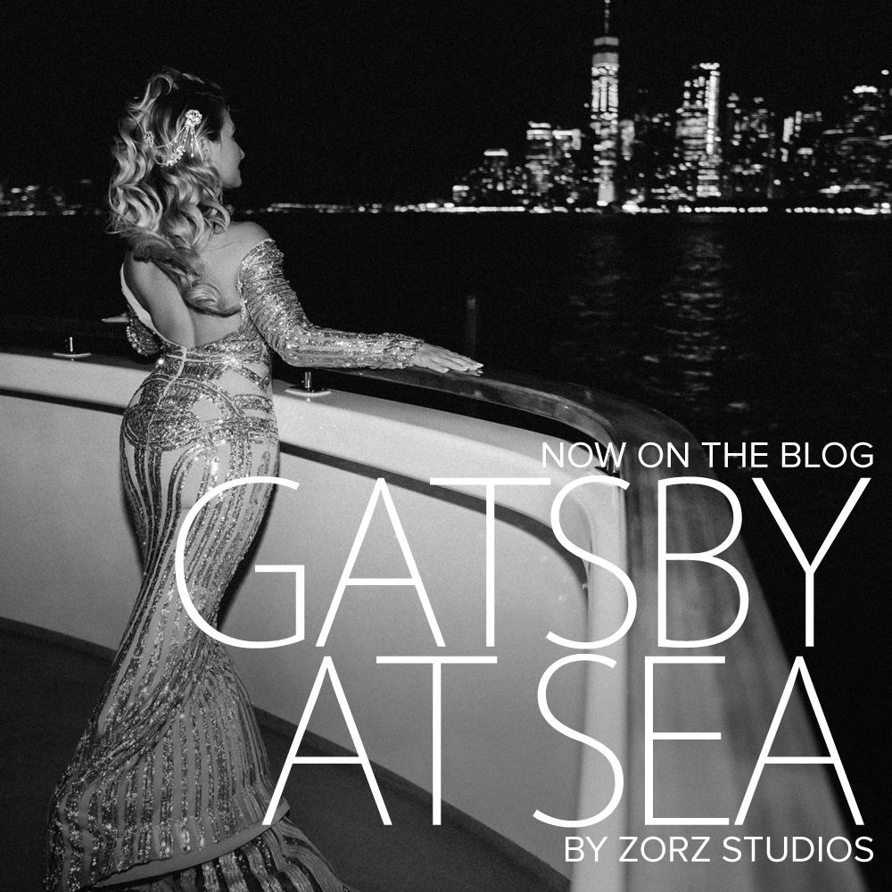 Gatsby at Sea: The Great Gatsby Theme Yacht Birthday Party by Zorz Studios (124)