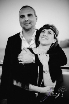 Gatsby at Sea: The Great Gatsby Theme Yacht Birthday Party by Zorz Studios (70)