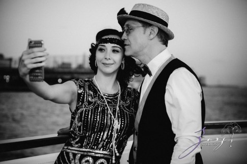 Gatsby at Sea: The Great Gatsby Theme Yacht Birthday Party by Zorz Studios (66)