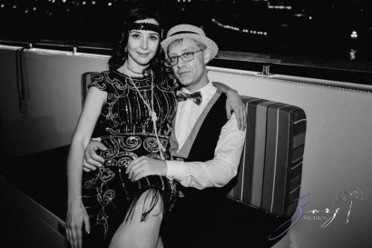 Gatsby at Sea: The Great Gatsby Theme Yacht Birthday Party by Zorz Studios (28)