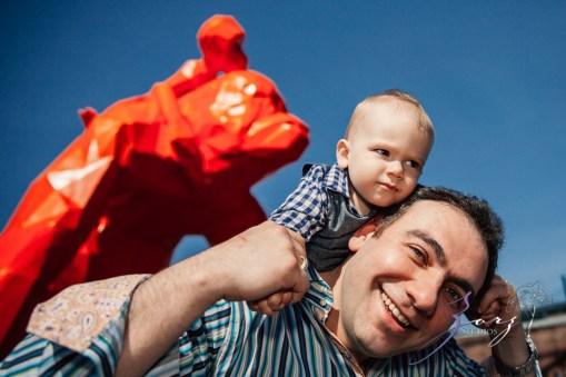 Cub: Outdoor Hilarious First Birthday Photoshoot by Zorz Studios (18)