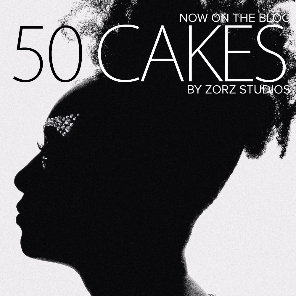 "50 Cakes: ""Celebrate Yourself"" Adult Birthday Photoshoot by Zorz Studios (1)"