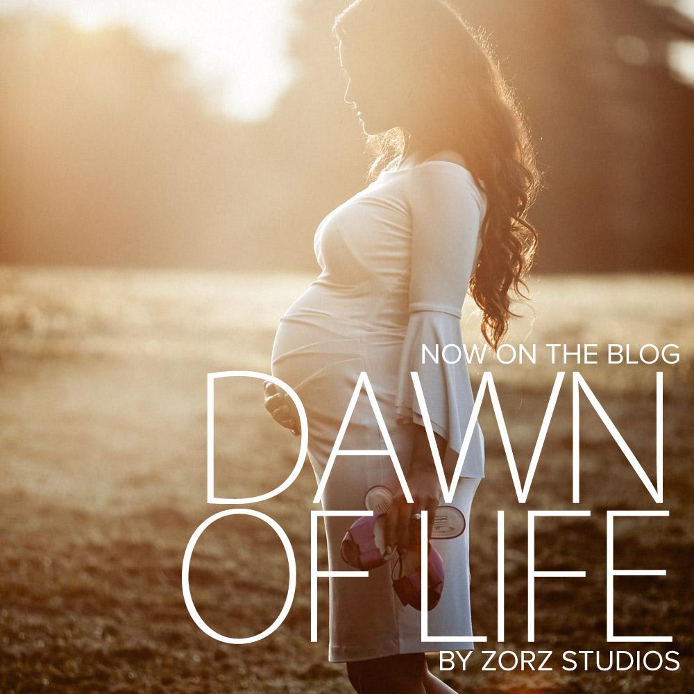 Dawn of Life: Sunrise Maternity Shoot by Zorz Studios (1)