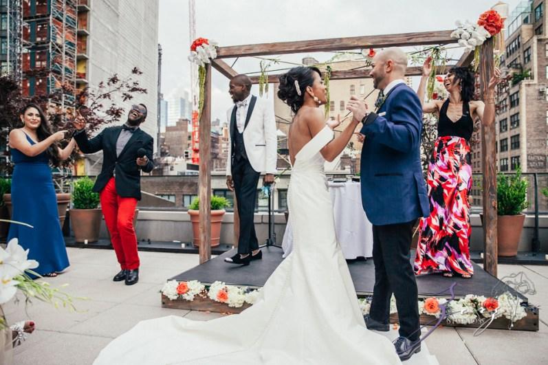 Bandana: Ana + Dana = Freaking Stylish Manhattan Wedding by Zorz Studios (35)