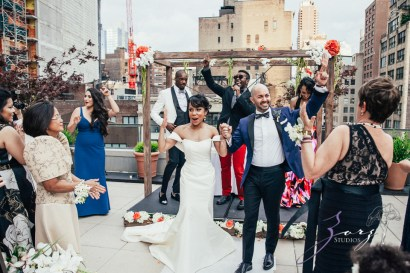 Bandana: Ana + Dana = Freaking Stylish Manhattan Wedding by Zorz Studios (32)