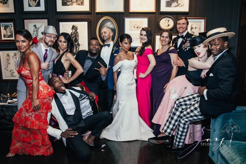 Bandana: Ana + Dana = Freaking Stylish Manhattan Wedding by Zorz Studios (29)