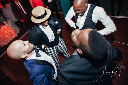 Bandana: Ana + Dana = Freaking Stylish Manhattan Wedding by Zorz Studios (5)