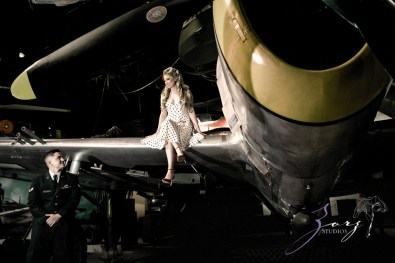 Pin-up Wings: Sam + Connor = Vintage Military Engagement Shoot by Zorz Studios (23)