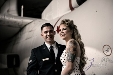 Pin-up Wings: Sam + Connor = Vintage Military Engagement Shoot by Zorz Studios (11)