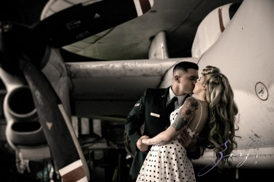 Pin-up Wings: Sam + Connor = Vintage Military Engagement Shoot by Zorz Studios (10)