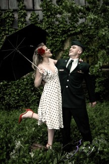 Pin-up Wings: Sam + Connor = Vintage Military Engagement Shoot by Zorz Studios (4)