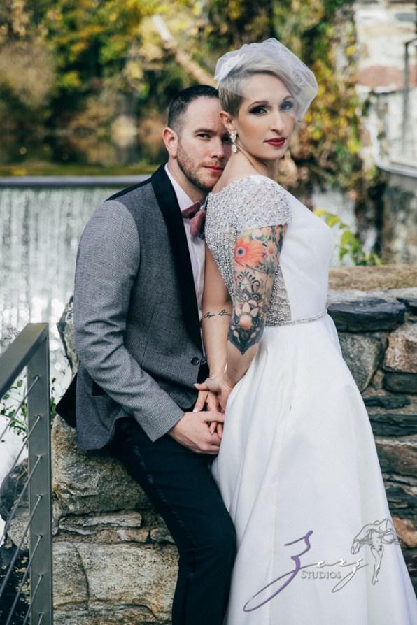 Vetz: Nicki + Adam = Industrial-Chic Wedding by Zorz Studios (78)