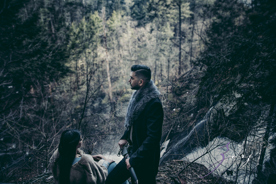 Elysium: Dreamlike Engagement Shoot at Raymondskill Falls by Zorz Studios (8)