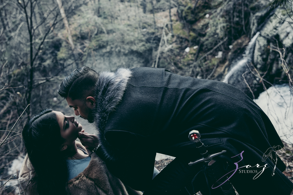 Elysium: Dreamlike Engagement Shoot at Raymondskill Falls by Zorz Studios (7)
