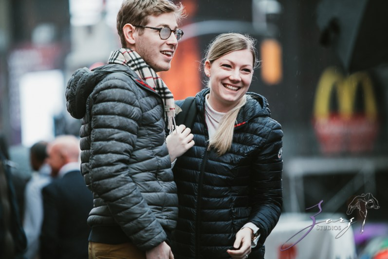 Trop Précieux: Frenchman's Marriage Proposal on Times Square by Zorz Studios (26)