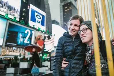 Trop Précieux: Frenchman's Marriage Proposal on Times Square by Zorz Studios (19)