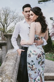No Bounds: Ilana + Igor = Old Westbury Gardens Engagement Session by Zorz Studios (24)