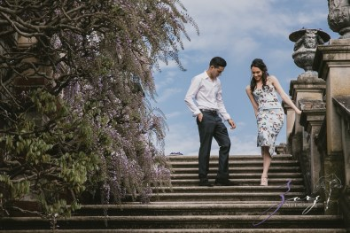 No Bounds: Ilana + Igor = Old Westbury Gardens Engagement Session by Zorz Studios (11)