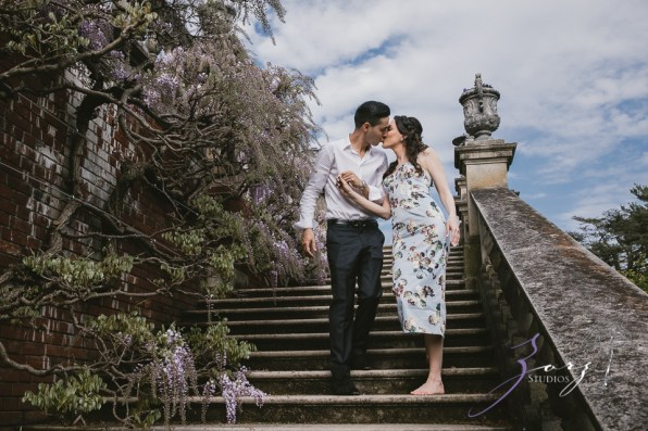 No Bounds: Ilana + Igor = Old Westbury Gardens Engagement Session by Zorz Studios (8)