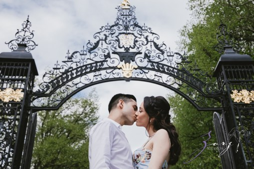 No Bounds: Ilana + Igor = Old Westbury Gardens Engagement Session by Zorz Studios (6)