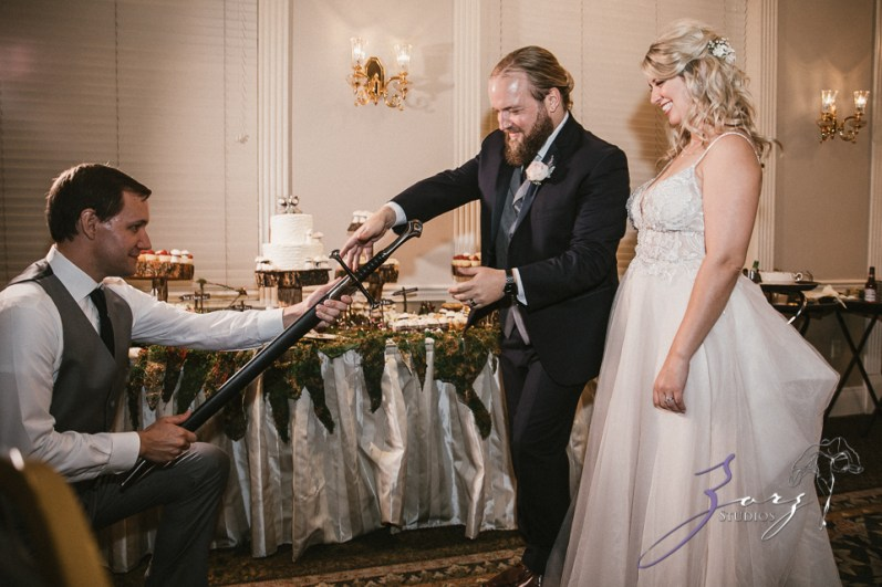 Aslewwish: Modern Viking Wedding in Ohio by Zorz Studios (24)