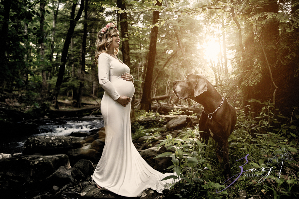 Tesori: Maternity Photoshoot in Poconos by Zorz Studios (21)