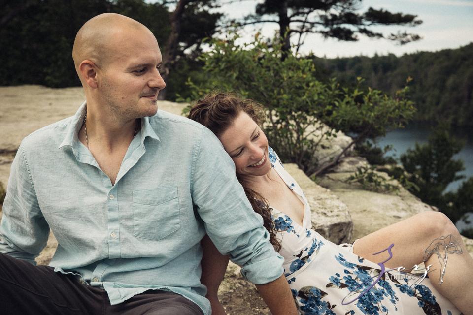 High: Lake Minnewaska Engagement by Zorz Studios (27)