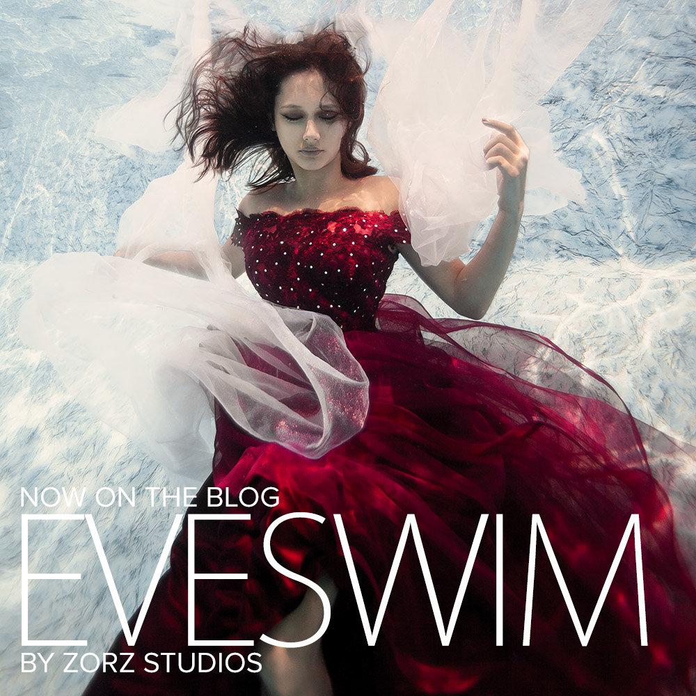 Eveswim: 18 Year Old Birthday Gift of Underwater Photography by Zorz Studios