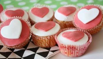 liefdes cupcakes