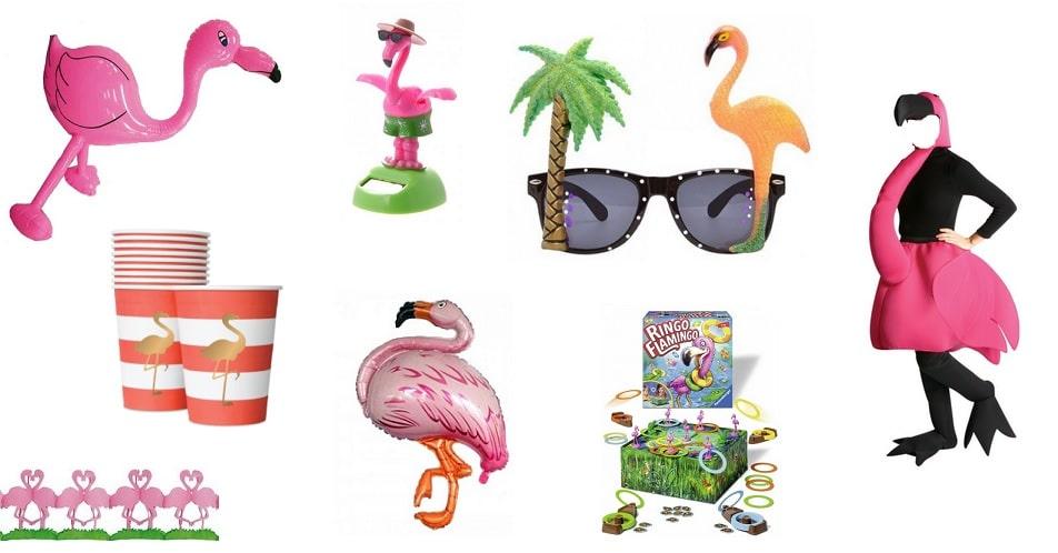 De flamingo spullen