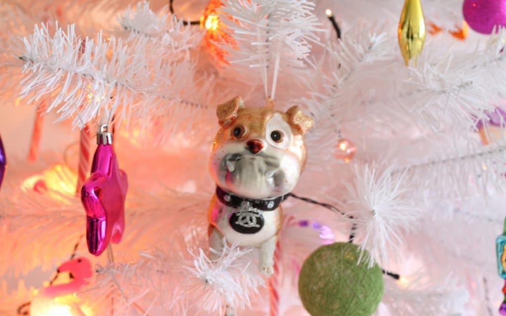 Bulldog kersthanger