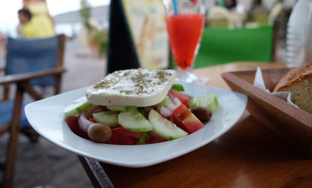 griekse salade kantina
