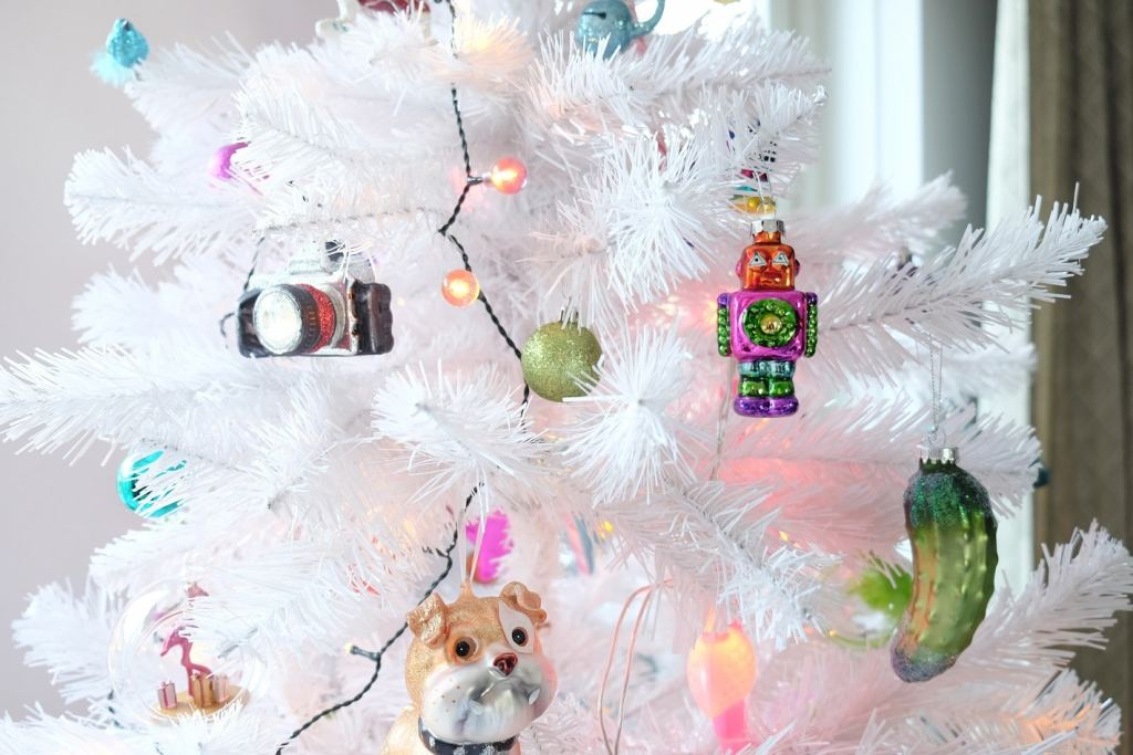 kleurrijke kerstboom