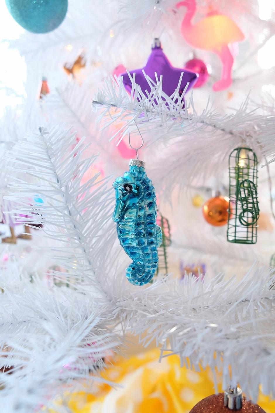zeepaardje kerstboom