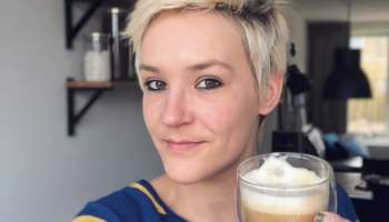 sammie en koffie