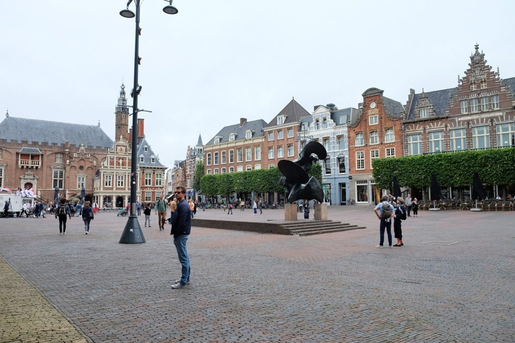 Tom in Haarlem