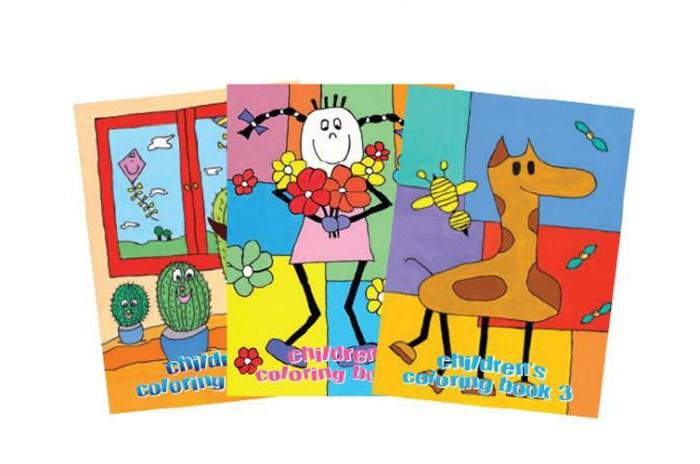 Ζωγραφική με το στόμα και το πόδι | Παιδικά βιβλία ζωγραφικής