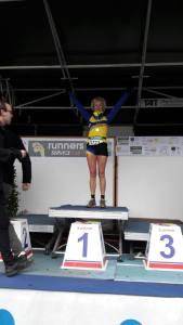 bernadette vekeman - 1ste plaats pk veldlopen