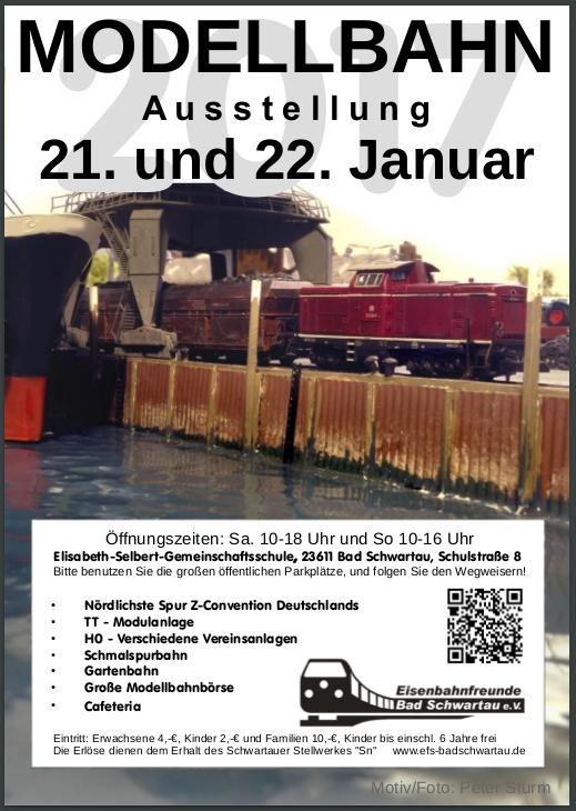 Bericht zur großen Modellbahn-Ausstellung in Bad Schwartau im Januar 2017