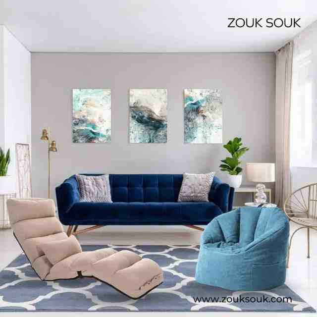 Are you looking for maximum lounging comfort at your home? Well, we offer a wide range of designer beanbags that delivers, ✅Comfort ✅Style ✅Adjustability ✅Softness ✅Easy Clean ✅Affordability  ✅Both Outdoor and Indoor use  Available in various sizes, shapes, and fabrics. Shop Now!  Visit: www.zouksouk.com or Dm us to Know More. #YourComfortCompanion #Kuwait #kuwaiti #onlineshopping #Decor #decoration #zouksouk #homedecor #officedecor #interiordesign #kingandqueen #painting #walldecor #walldecoration #walldecorideas #paintings #paintingsforhome #paintingsforsale #livingroom #livingroomdecor #bedroomdecor #homeshopping   #غرفةمعيشة #غرفطعام #غرفه_نوم #تصميمداخلى #ديكور #ديكوراتخارجية #ديكوراتفخمه #تصميمحدائق