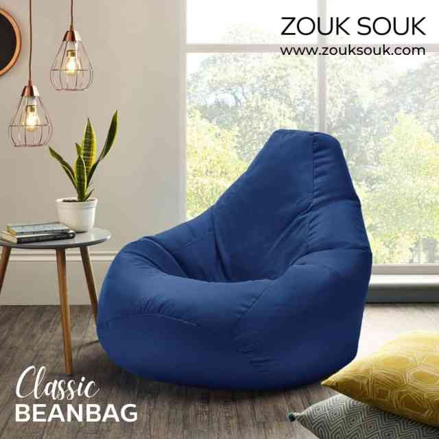 The Classic Beanbag is incredibly comfortable, highly luxurious & comes in a leather fabric that will be a perfect complement to any decor. Available in different colours & sizes.  Shop at- link in bio  #YourComfortCompanion #Kuwait #beanbag #kuwaiti #kuwaitcity #onlineshopping #Decor #decoration #zouksouk #homedecor #officedecor #furniture #furnituredesign #interiordesign #classicbeanbag #leatherbag #comfort #cozy #comfy #luxurious #weekendshopping #beanbags   #غرفةمعيشة #غرفطعام #غرفه_نوم #تصميمداخلى #ديكور #ديكوراتخارجية #ديكوراتفخمه #تصميمحدائق