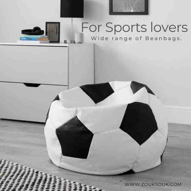 Basketball or football? What's your favourite sport. Tell us in comments . Shop these amazing theme bean bags and lots more on our website . Link in bio.  #zouksouk #homedecor #beanbags #artworks #kuwaitcity #kuwaitinsta #kuwaitinstagram #beanbagchair #sportsfans #basketball #football #custom #floorcushion #furniture #readyshipping #shopnow ##bedroomdecor #roominspiration #familychillspot