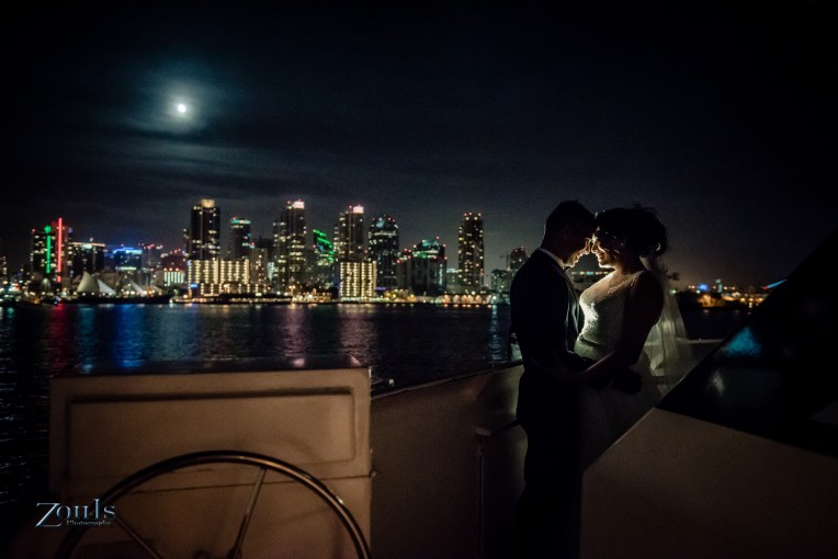Laura & Gill Wedding at Newport Hornblower San Diego